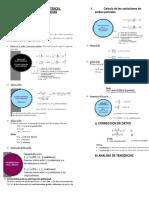 Formulario Analisis de Consistencia