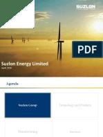 Suzlon-Wind- Marketing Presentation April'18