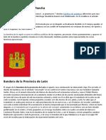 Conocer las Banderas del Mundo - Banderas de Provincias y Comunidades de España