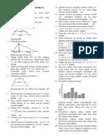 Latihan Soal Pas Mtk Ix 18-19