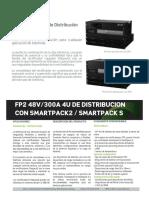 Fp2 48v300a 4u Distribution With Smartpack2 m20405.401.Ds6