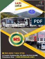 Paling Ramah..!, Call 0852-7464-9709, Pusat Bus Pariwisata Pekanbaru Kota Pekanbaru Riau