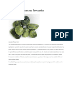 Serpentine Gemstone Properties