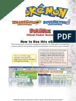 Pokemon Heartgold & SoulSilver - Pocket Pokedex Vol 3