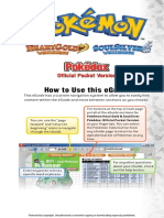 Pokemon Heartgold & SoulSilver - Pocket Pokedex Vol 3