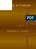 Competence of Contracting Parties