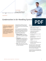 Condensation in AHU Systems ENewsleter