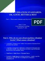 Machine Vibration Standards - Part 1 - Why