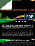 Sistemas de Comunicacoes Moveis-Sistema GSM