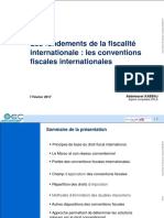 Fiscalité Internationale Les Convention Fiscales Internationales