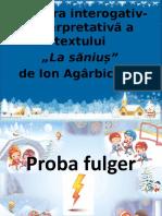 """La săniuș"".pptx"
