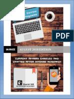 IAS BUZZ Current Affairs Magazine AUGUST 2018