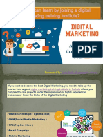 What you can learn by joining a digital marketing training institute.pdf