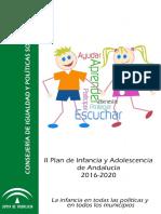 II Plan Infancia Adolescencia