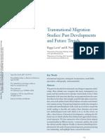 2_Levitt, Jaworsky 2007 - Transnational Migration Studies