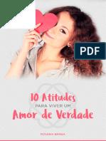 10 Atitudes Para Viver Um Amor de Verdade