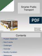Smarter Public Transport