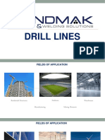 Bendmak - Product Knowledge Presentation - Beam Drill Lines