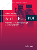 Marchesini, Roberto-Over the Human _ Post-humanism and the Concept of Animal Epiphany-Springer (2017)