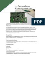 Diagnóstico Avanzado en Computadoras Automotrices