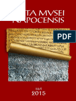 Medical Instruments in Roman Dacia a Survey beyond typology and functionality