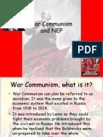 War Communism and NEP