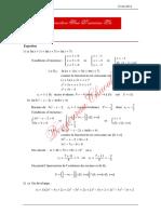 Série de Révision Avec Correction Math Fonction Ln Bac Sciences Exp 2013 2014 Mr Bouzouraa Chaouki 1