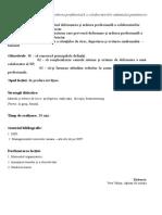 Tema 3 Deformare Profesionala