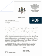 State Sen. Judy Schwank's letter to PUC
