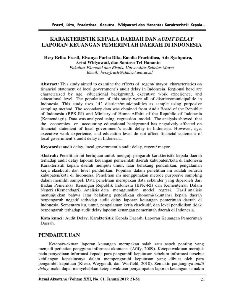 238399709 Judul Skripsi Akuntansi Sektor Publik Terbaru