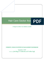 Hair Care Sector Analysis