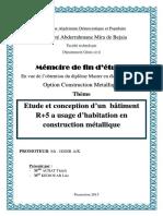 Etude d'un batiment en ( r+8+s.sol) à usage multiples contreventé par un système mixte ( voiles-portiques).pdf
