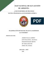 Elaboracion Manjar - Lactosuero (1)