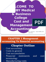 Chapter  =1=-  Management accounting Vs financial accounting