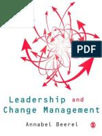 Leadership and Change Managemen - Annabel Beerel