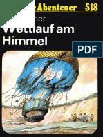 Das Neue Abenteuer 518 - Hans Ahner - Wettlauf Am Himmel