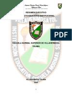 Proyecto Educativo Institucional de La Ensvi (3)