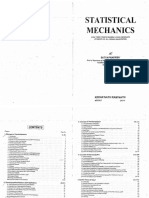 Satya Prakash Statistical Mechanics