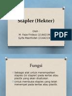 Stapler (Hekter).pptx