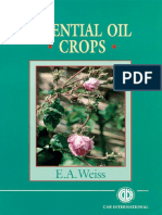Essential Oil Crops