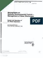API-421 Caixa Separadora de Agua e Oleo
