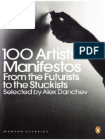100 Artists Manifestos - Alex Danchev