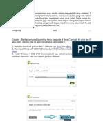 cara instal ulang windows 7.docx