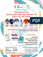 Management of Speech and Language Disorders in Cleft Lip and Palate