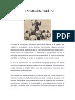 Las Misiones Jesuítas