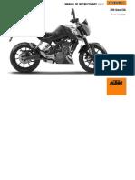 Manual Ktm 200