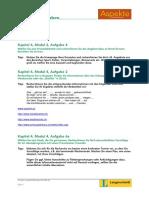 Aspekte 1 Rechercheaufgaben Kapitel 41