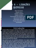 Aula 6 – Ligações químicas.ppt