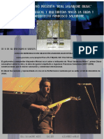 "primera Gazetilla Oficial ""Francisco Salamone""  Musica -  #salamonemusic  Alejandro Miniaci"