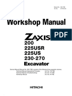 Hitachi Zaxis 225USR Excavator Service Repair Manual.pdf